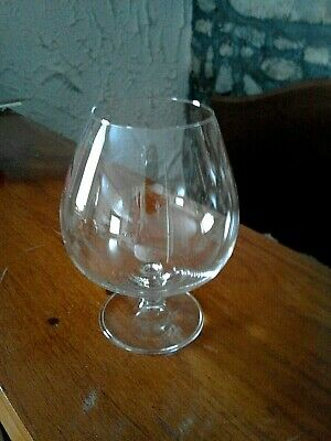 Large Brandy Glass Excellent Condition • 1.99£