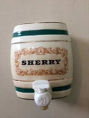 Vintage Royal Wade Pottery Sherry Decanter With  Tap • 5.50£