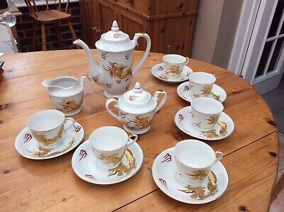 Chinese Porcelain Tea/coffee Set • 12£