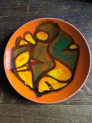 Poole Pottery Delphis Plate • 5£