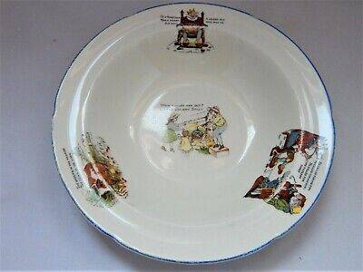 Antique W.H. Grindley Pottery Child's Dish • 9.90£