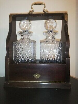 Royal Brierley Full Lead Crystal Decanter Tantalus  • 60£