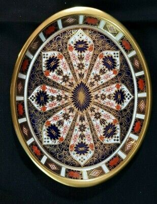 Royal Crown Derby Oval Dish • 41£