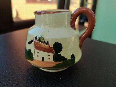 WATCOMBE TORQUAY WARE Small CREAM /MILK JUG • 3.99£