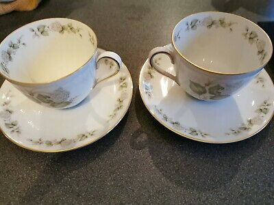 Franconia Cups And Saucers • 4.80£