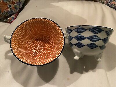 Quirky Footed Tea Cups  • 14.60£