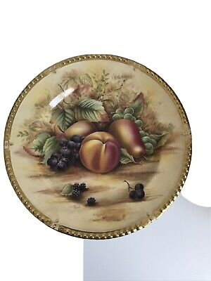 Aynsley Orchard Gold 10 Inch Gold Plate • 15.50£
