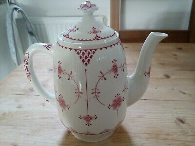 Furnivals Pink Denmark Coffee Pot In Very Good Condition • 27£