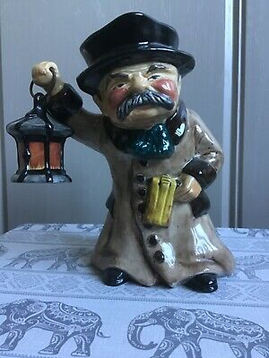 Roy Kirkham Staffordshire Pottery Character Toby Jug 'The Night Watchman' • 9.99£