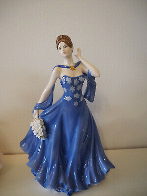 Royal Worcester Moonlight And Roses Figurine • 89.99£