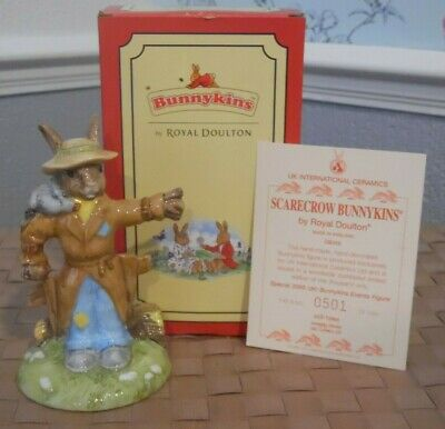 Royal Doulton(item346) SCARECROW BUNNYKINS DB359 LIMITED EDITION Mint • 55£