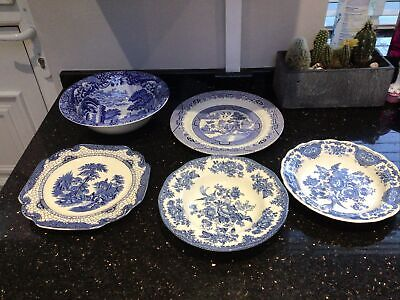 Collection Blue& White Dishes And Plates • 15£