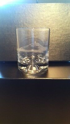 Whisky Glass Hand Engraved With Glastonbury Tor • 8.95£