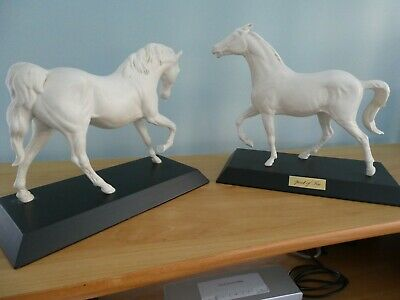 Two Beswick / Doulton  Spirit Of Fire & Freedom  Horses For The Price Of One • 80£