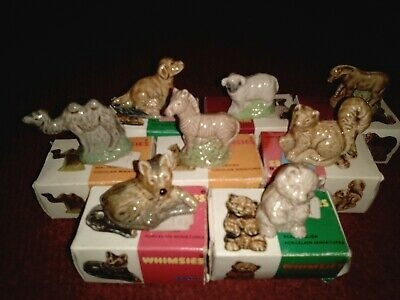 Wade Whimsies Joblot Boxed  • 8£