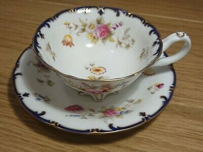 Cauldon Handpainted Cup And Saucer • 9.99£