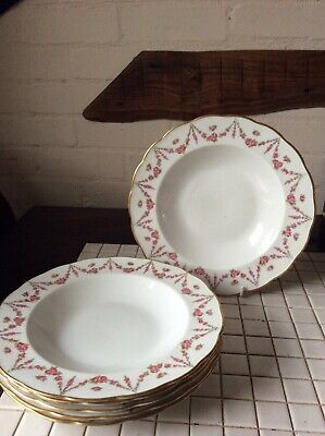 6 China Dished By George Jones & Sons . Manufactured For Harrods London • 30£