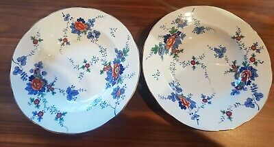 Two Vintage Booths Silicon China  Flora  Bowl / Dish • 15.49£