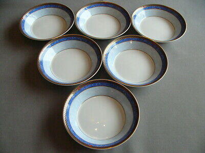 6 X First Quality Wedgwood Valencia 5  Fruit/Dessert Dishes - Superb (A) • 48£