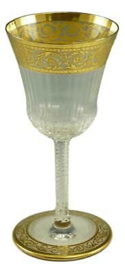 ST LOUIS Crystal - THISTLE Gold Design - Sherry Glass / Glasses - 5 1/8  • 79.99£