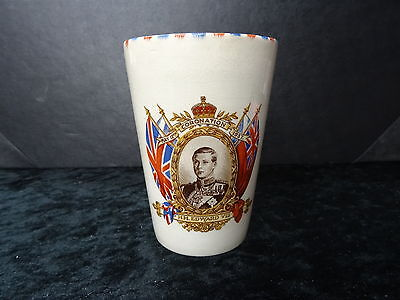 China Commemorative Beaker- 1937 VIII Coronation • 19.99£