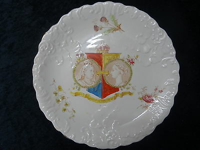 Allertons China Commemorative Plate - 1897 Queen Victoria Jubilee. • 34.99£