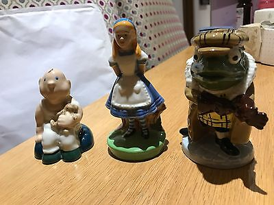 Three Wade Pieces: Toad, Alice And The Baby • 29.99£