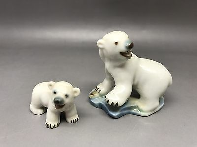 Wade Whimsies Polar Bear & Cub • 14.50£