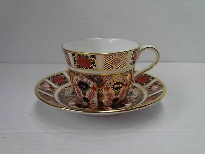 Royal Crown Derby Old Imari Tea Cup And Saucer • 80£
