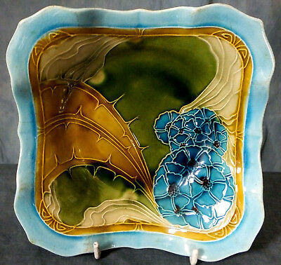 Rare Hand Tubelined & Painted Minton Secessionist Dish • 225£