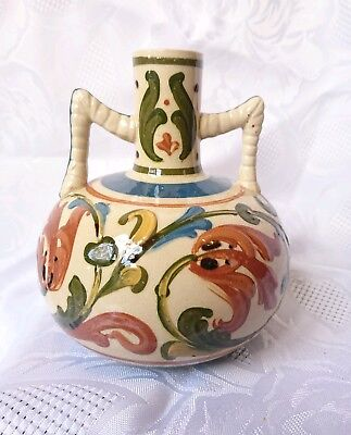 Aller Vale Pottery Two Handle Vase Amphora Style • 25.99£