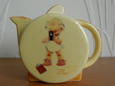 Carlton Ware Mabel Lucie Attwell Photographer Mini Teapot Special & Certificate • 37.50£