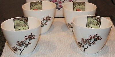Set Of 4 Beautiful Cups By Christopher Vine , Australia • 14£