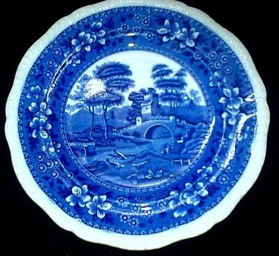COPELAND SPODE'S TOWER Blue/White Round  9 3/8 Inch Plate C1905? • 19.99£