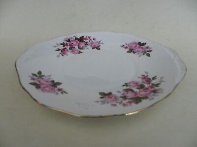 Vintage Bone China Cake Plate  Queen Anne  By Ridgway Potteries. • 12.99£