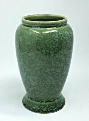 BRUSH McCoy HIGH GLOSS GREEN VASE #716 MINT! • 37.95£