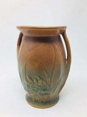 Vintage 1920s Early McCoy 'Berries & Leaves' Vase • 45£