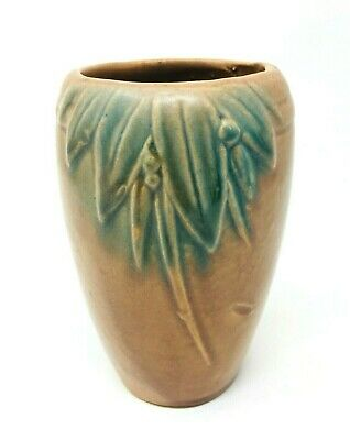 Vintage 1920s Early McCoy 'Berries & Leaves' Vase • 47.95£