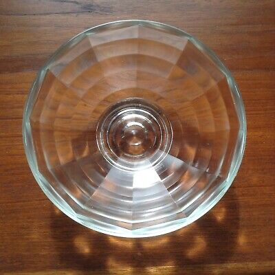 Rare Post 1945 Chance Glass Goodden 'Optic' Spiderweb Design 17 Cm Bowl • 17.99£