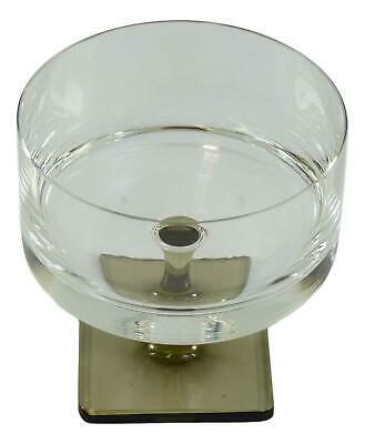 ROSENTHAL Crystal - LINEAR SMOKE - Champagne Saucer Glass / Glasses - 3 3/4  • 22.99£