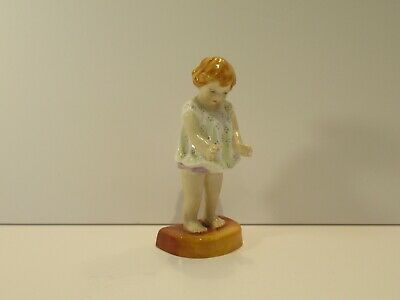 Early Royal Worcester Child Figurine Of  'joan'  By Freda Doughty -  • 35£