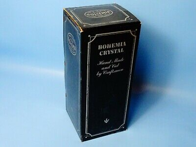 Vintage Bohemia 24% Lead Crystal Hand Cut Drinks Decanter Boxed New  • 39.99£