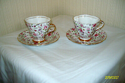 Clarence Bone China Tea Cup & Saucer Made In England • 9.99£