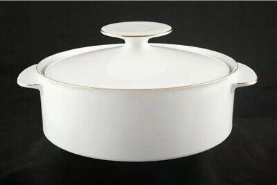 Thomas Rosenthal MEDALLION Serving Dish With Lid Round 8  Gold Germany Tureen • 19.99£