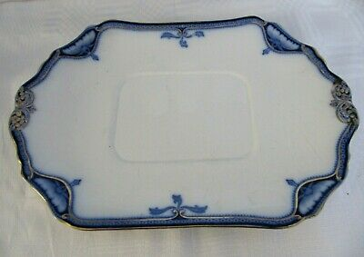 Burgess & Leigh 'Hamilton' Stand For Serving Dish - Platter - Blue & White • 10£