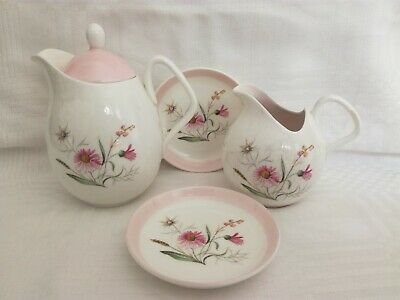 Vintage Foley Wild Flower Jugs & Dishes • 9.75£