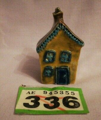 Miniature Pottery Cottage - Made In Denmark 1995 (WR336) • 1£