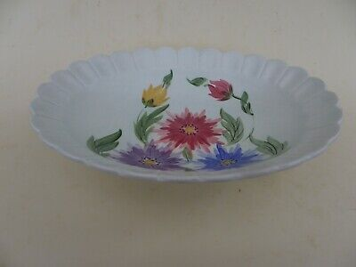 Radford England Handpainted Footed Pottery Oval Dish. • 24.99£