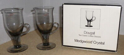 Wedgwood Glass 'Dougall' Gaelic Coffee Glasses - Midnight • 18£