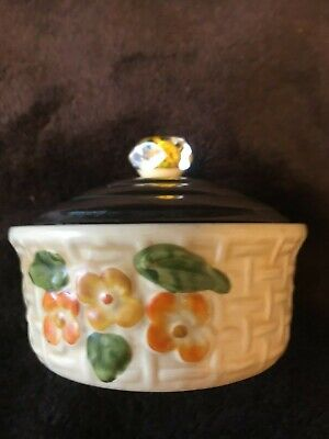 Vintage Wade  Butter Dish  Hand Painted • 7.01£